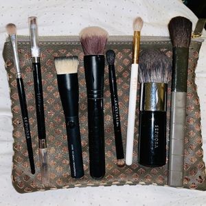 Makeup Brush Bundle+Makeup Bag for Sale in St. Louis, MO