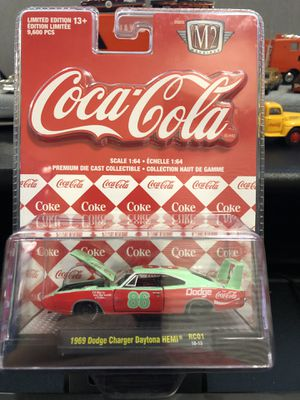 Coke M2 Cars all 6 for 40 Dollars for Sale in Forney, TX