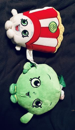 """Lot of Two Brand New, 6"""" Shopkins Plushies! Still have Tags!! for Sale in Mt. Juliet, TN"""