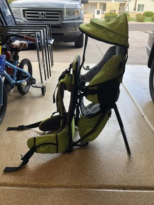 Hiking child carrier and backpack for Sale in Phoenix, AZ