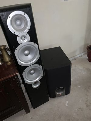 Infinity tower speakers for Sale in Austin, TX