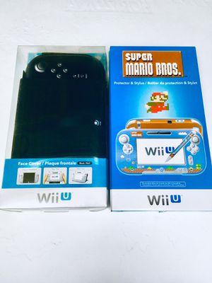 Wii U super Mario Armor+stylus & Flip Cover both! for Sale in Huntington Park, CA