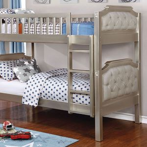 Champagne color Bunk bed for Sale in Dearborn, MI