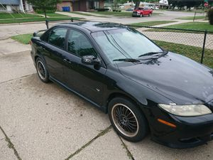 2004 Mazda 6 . everything work. Brand-new battery. Lots of new parts .I heavy all the rct. Power sunroof for Sale in Warren, MI