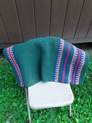 Used horse saddle blanket,,, for Sale in Linden, PA