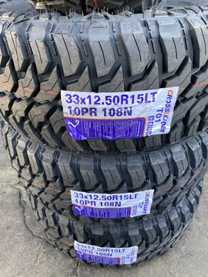 Cross Mud Terrain 33/12.50R15 for Sale in Santa Fe Springs, CA