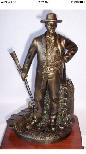 """""""The Marshall"""" Friends of NRA statue for Sale in La Habra, CA"""