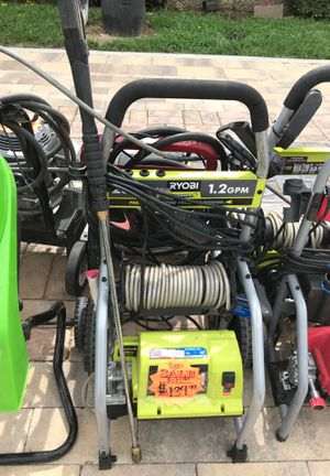 RYOBI PRESSURE WASHER for Sale in DeSoto, TX