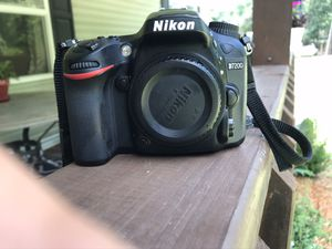 Nikon D7200 and external Flash for Sale in Gilbert, SC