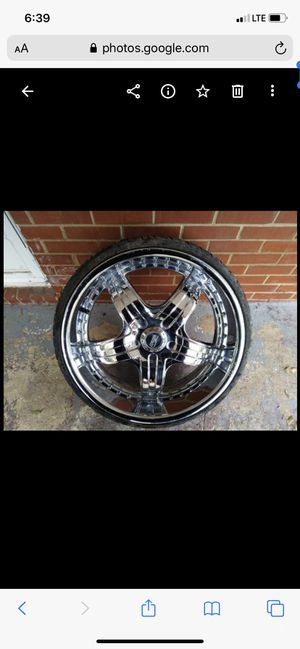 22 inch rims 5 lug for Sale in Columbia, SC