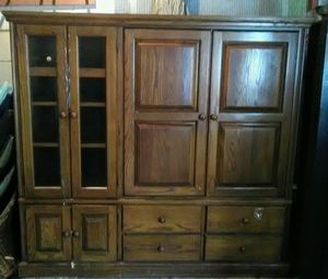 Beautiful Entertainment Cabinet for Sale in Center Line, MI