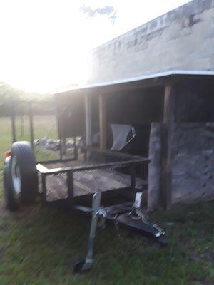 Open single axel trailer for Sale in Avon Park, FL