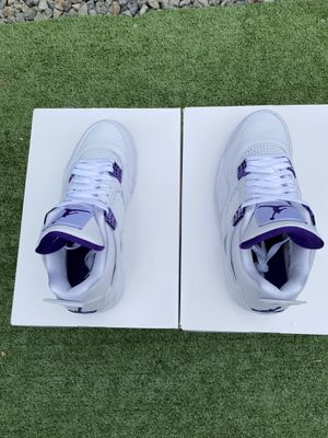 "Air Jordan 4 Retro ""Metallic Purple"" for Sale in Anaheim, CA"