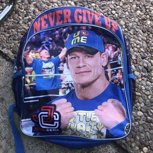 """John Cena """"never give up""""backpack for Sale in Fort Worth, TX"""