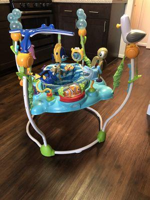 Finding Nemo jumper $40, walker $15 gently used baby items for Sale in Woodbridge, VA