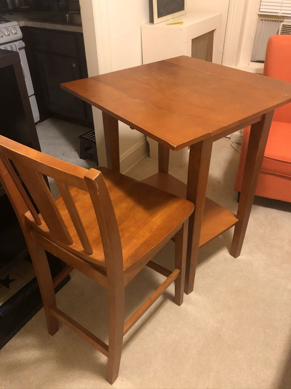 High Top Table with Two Chairs