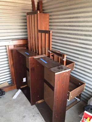2 $150 OBO 2 years old bunk bed with stairs and bottom drawers for Sale in Fort Worth, TX