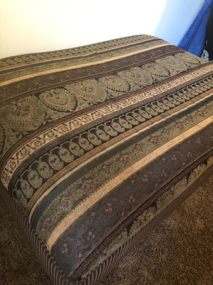 Ottoman brown wood for Sale in Smyrna, TN