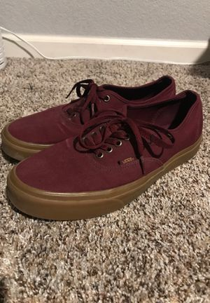 Vans 10.5 maroon shoes for Sale in Westminster, CO