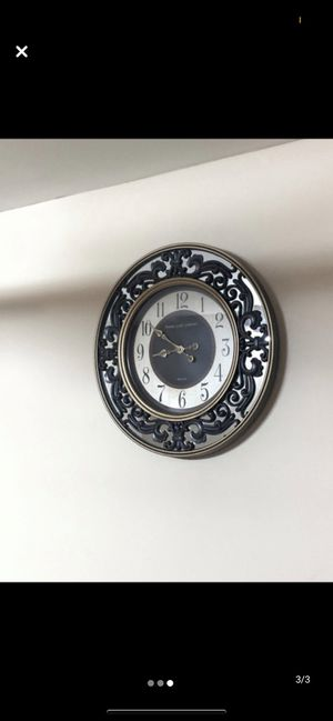 Mirrored Wall Clock for Sale in Elmsford, NY