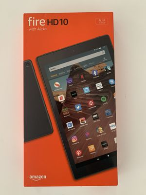 Amazon fire hd 10 tablet for Sale in Miami, FL
