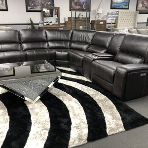 Dark Brown Power Motion Sofa Sectional 🔥 for Sale in Fresno, CA