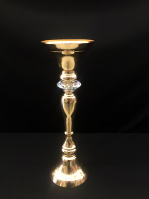 Vase Gold W Diamond Flower Stand for Sale in Los Angeles, CA