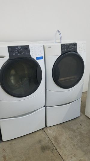 KENMORE ELITE WASHER AND GAS DRYER for Sale in Modesto, CA
