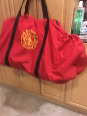Duffel bag, Fire Dept for Sale in Palm Beach Gardens, FL