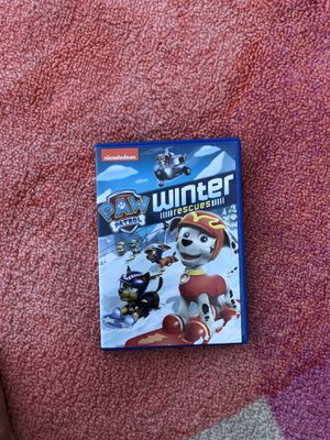 Paw patrol winter games dvd for Sale in Snohomish, WA