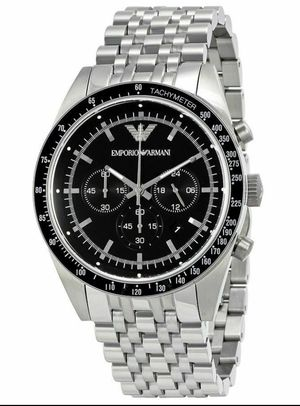 Emporio Armani AR5988 Sportivo Chronograph Wrist Watch for Men for Sale in San Fernando, CA