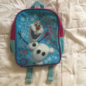 Frozen Olaf backpack for Sale in Houston, TX