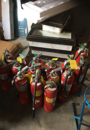 Fire extinguishers fully charged and inspected for Sale in Virginia Beach, VA