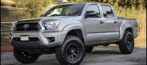 "17"" Toyota Tacoma Wheels & Tires Package • 17"" XD 134 Addict 2 Wheels Rims • RBP Mud Terrain Tires 285/70R17 • Package Includes Leveling Kit Matte for Sale in La Habra, CA"