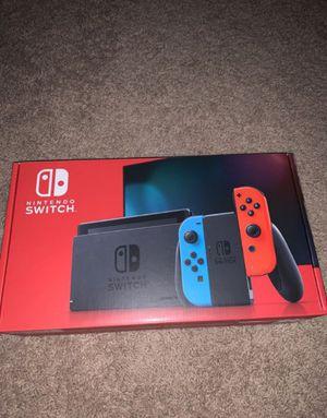 Nintendo Switch Neon Red/Neon Blue Joy Con 32GB for Sale in Key West, FL
