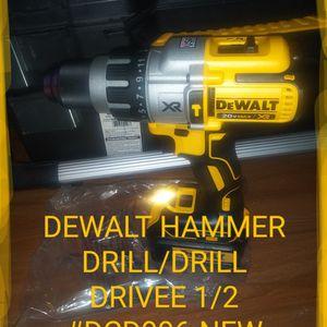 DEWALT. HAMMER DRILL MOdel#DCD996--NEW. $99 for Sale in Houston, TX