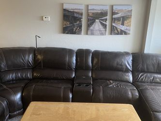 6 Piece Sectional Leather Couch for Sale in FL,  US