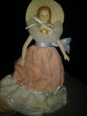 "1988 Avon porcelain Doll.cotton body about 10""tall . for Sale in Middletown, OH"