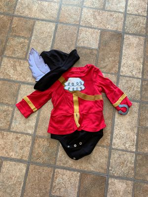 6-9 month Captain Hook costume for Sale in Cleveland, OH