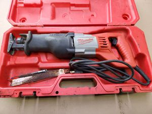 Milwaukee 6519-30 sawzall for Sale in Bristol, PA