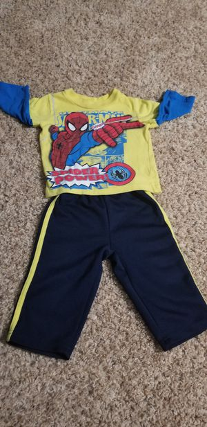 Marvel Spiderman 12 Month Outfit for Sale in Virginia Beach, VA