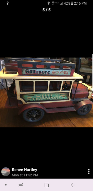 Vintage Harry toys. You choose Double decker bus or carriage for Sale in Hilton Head Island, SC