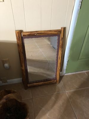 Real Wood Mirror farmhouse for Sale in Atlanta, GA