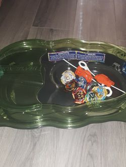 7 Beyblade Gt Beyblades 2 Launchers And 1 Stadium for Sale in Poinciana,  FL