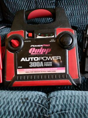 Power pro quipp 300A battery booster pack for Sale in Sanger, CA