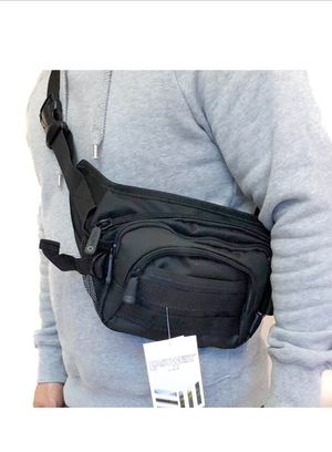 NEW! Tactical Black Crossbody/Shoulder/Side Bag/Sling Bag/Fanny Pack For Traveling/Everyday Use/Work/Hiking/Biking/Camping/Fishing $13 for Sale in Carson, CA