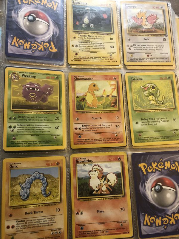 Pokemon cards from the 90s 1st edition, McD promo holos, neo Japanese from 90s etc.
