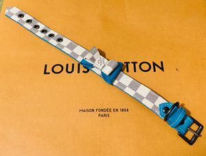 Repurposed Louis Vuitton dog collar for Sale in Tampa, FL