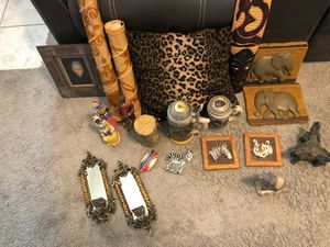 African theme decor. for Sale in North Las Vegas, NV