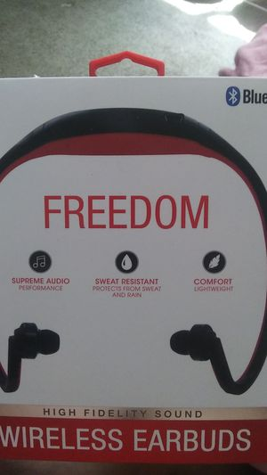IHip Bluetooth freedom wireless earbuds for Sale in Washington, DC